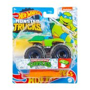 Hot Wheels Monster Trucks játékautó kilapítható autóval - Tini Nindzsa Teknőcök: Leonardo