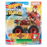 Hot Wheels Monster Trucks játékautó kilapítható gumiautóval - Iron Man
