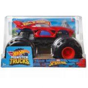 Hot Wheels Monster Trucks 1:24 autó - Spider-Man