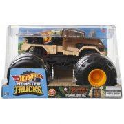 Hot Wheels Monster Trucks 1:24 autó - Jurassic World Krétakori tábor T-Rex