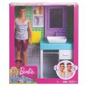 Barbie Ken hétköznapjai - Ken fürdőszobája játékszett