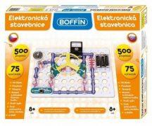 Boffin I 500 Tudományos elektromos építőkészlet (75 db-os)