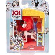 101 kiskutya Dalmata utca 101 - Dylan figura kutyaházzal