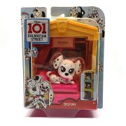101 kiskutya Dalmata utca 101 - Destiny figura kutyaházzal