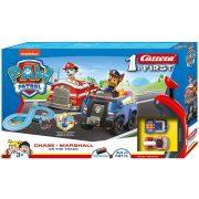 Carrera FIRST 63033 Mancs őrjárat - On the Track autópálya Chase és Marshall versenyzőkkel