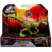 Jurassic World támadó dinoszaurusz játék figura - Velociraptor Charlie (20 cm)