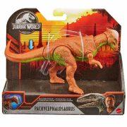 Jurassic World támadó dinoszaurusz játék figura - Pachycephalosaurus (20 cm)