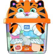 Mega Bloks Mosolygós tigris építőkockák (25 db)