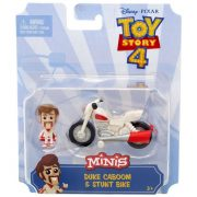 Toy Story 4 - Duke Caboom mini figura és kaszkadőr motorja