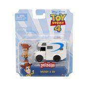 Toy Story 4 - Woody mini figura és kemping autója