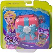 Polly Pocket - Hableány rejtekhely meglepetés játékszett