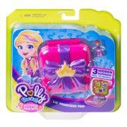 Polly Pocket - Kis hercegnő rejtekhely meglepetés játékszett