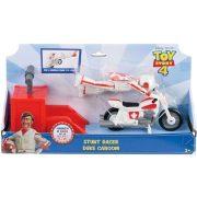 Toy Story 4 - Duke Caboom motoros kaszkadőr játékszett