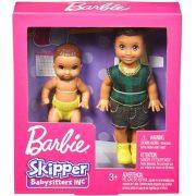 Barbie Skipper Babysitters - Bébiszitter kistesók (Barna hajú)