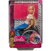 Kerekesszékes Barbie baba