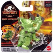 Jurassic World Krétakori tábor - Triceratops dinoszaurusz figura