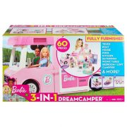 Barbie 3 az 1-ben luxus lakóautó