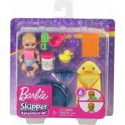 Barbie Skipper Babysitters - Kisbaba fürdőjátékokkal