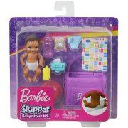 Barbie Skipper Babysitters - Kisbaba pelenkázóval
