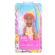 Barbie Dreamtopia Chelsea - Sellő baba sárga koronával
