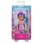 Barbie Dreamtopia Chelsea - Sellő baba rózsaszín koronával