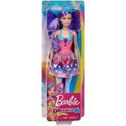 Barbie Dreamtopia - Kék koronás tündér baba levehető szárnnyal