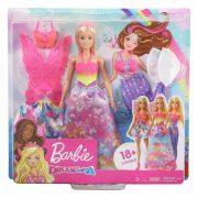 Barbie Dreamtopia Öltöztetős játékszett babával és kiegészítőkkel