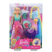 Barbie Dreamtopia - Sárkány óvoda babával
