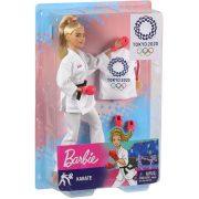 Barbie Tokió 2020 Olimpiai baba - Karatés Barbie (30 cm)