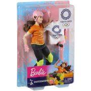 Barbie Tokió 2020 Olimpiai baba - Gördeszkás Barbie (30 cm)