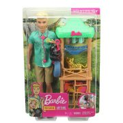 Barbie Karrierbabák - Vadállatok orvosa Ken baba játékszett