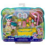Enchantimals fürdésidõ szett Petya Pig babával