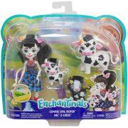 Enchantimals baba állatkával - Cambrie Cow boci családdal