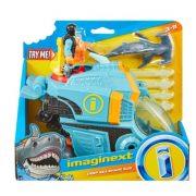 Imaginext Cápás játékszett cápával és tengeralattjáróval