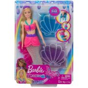 Barbie Dreamtopia - Sellő baba slime-al