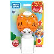 Mega Bloks Peek A Blocks kukucskocka - Tigris