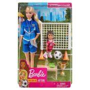 Barbie - Fociedző játékszett