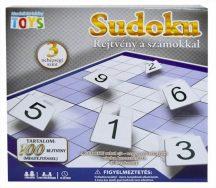 Sudoku rejtvény a számokkal