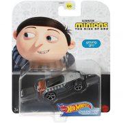 Hot Wheels Minyonok karakter kisautó - Fiatal Gru