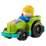 Fisher-Price Little People Wheelies zöld kisautó