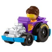 Fisher-Price Little People Wheelies lila kisautó
