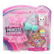 Barbie Princess Adventure - Divatcsomag nyuszi kiskedvenccel