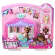 Barbie Princess Adventure - Chelsea hercegnő játékszett