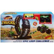Hot Wheels Monster Trucks szörnyhurok pályaszett