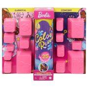 Barbie Color Reveal Meglepetés baba - Vidámparkból a koncertre játékszett