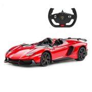 Rastar Távirányítós autó 1:12-es méretaránnyal - Lamborghini Aventador (piros)