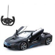 Rastar Távirányítós autó 1:14-es méretaránnyal - BMW i8 (fekete)