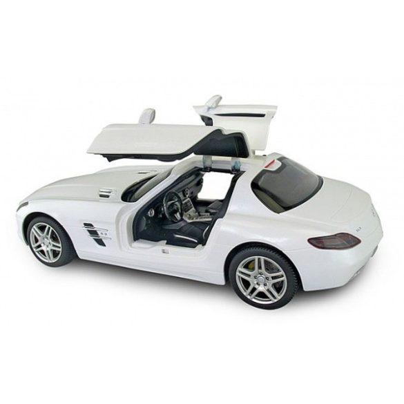 RASTAR Távirányítós autó 1:12-es méretaránnyal - MERCEDES-BENZ SLS AMG (fehér)
