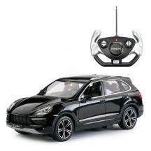 RASTAR Távirányítós autó 1:14-es méretaránnyal - PORSCHE CAYENNE TURBO (fekete)