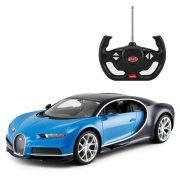 Rastar Távirányítós autó 1:14-es méretaránnyal - Bugatti Chiron (kék)